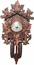 NEYOANN Vintage Home Decorative Bird Wall Clock