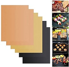 NFRMJMR BBQ grill mat 3color Non-stick BBQ Grill