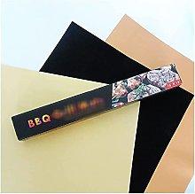 NFRMJMR BBQ grill mat Reusable Non-stick BBQ Grill