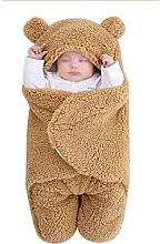 NFSQYDT Baby Hooded Swaddle Blanket, Universal