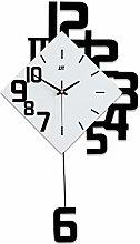NgFTG Chinese Style Wooden Pendulum Wall Clock,