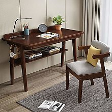 NgFTG Heavy Duty Solid Wood Computer Desk With