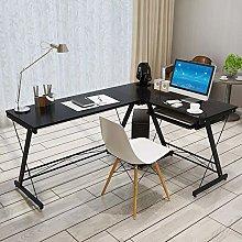 NgFTG L Shaped Corner Desk With Keyboard