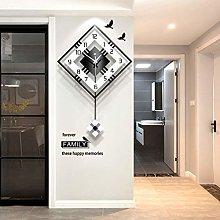 NgFTG Modern Decorative Wall Clock With Pendulum,