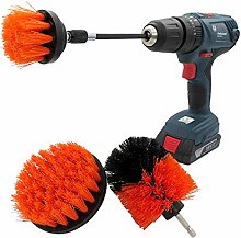 NgMik Electric drill cleaning brush 4 Pcs Drill