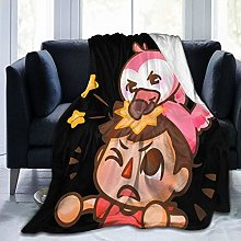 Ngrongk Alberts-Stuff Flamingo Throw Blanket