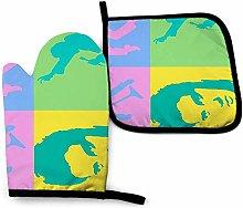 ngxianbaimingj Elvis Presley Collage Tea Towel X