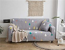 NHBTGH Stretchy Sofa Cover Gray Slipcovers