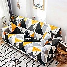 NHFGJ Sofa Covers All-Inclusive Print 1/2/3/4