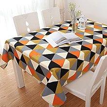 NHhuai Plastic Table Cloth With Retro Polkadot