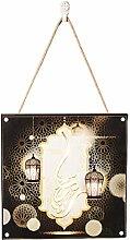 NHP Ramadan decorations, lighting wall