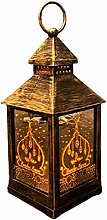 NHP Ramadan lanterns wrought iron wind lanterns,