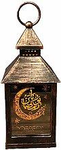 NHP Ramadan lanterns wrought iron wind lanterns,