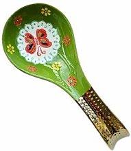 NHP Spoon holder holding colander, spatula mat