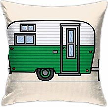 NHUXAYH Caravan Throw Pillow Covers, Sofa Cushion