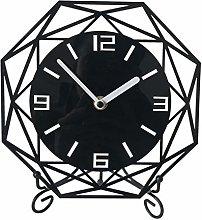 NHX Silent Desk Shelf Clock Bedside Table Clock