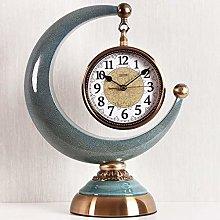 NHX Silent Desk Shelf Clock Creative Desktop Clock