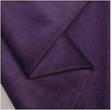 NIANTONG 145cm Wide Purple Velvet Upholstery