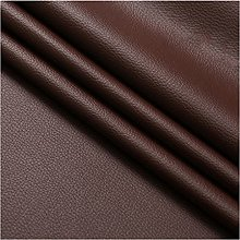 NIANTONG Coffee/Chocolate Faux Leather Upholstery