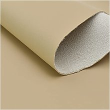 NIANTONG Faux Leather Upholstery Fabric by the