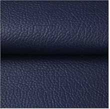 NIANTONG Litchi Pattern Faux Leather Fabric by The