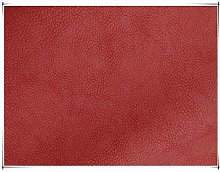 NIANTONG Lychee Texture PU Faux Leather Fabric by