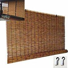 NIANXINN Bamboo Blinds Natural Reed Curtain Roller