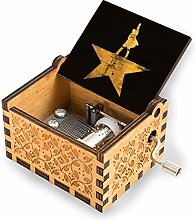 niaoyun-hamilton logo-Wood Music Box - Laser