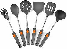 NIBABA Easy to Clean 6pcs Silicone Kitchen
