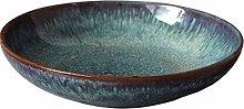 Niceamz Dark Green Fruit Bowl deep pan ice Cream