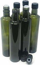 nicebottles Olive Oil Bottles with Cap & Pourer