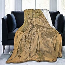 Nicegift Lord Rings Blanket Oversized Warm Adult
