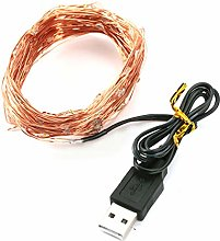 NICEJW 5V LED Fairy Light, 2/5/10m Waterproof USB
