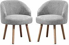 NICEME 2 Pcs Small Sofa Tub Chair Lounge Chair,