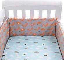 NICERAM Baby Crib Liner,breathable Cot Bumper 100