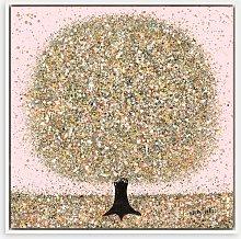 Nicky Chubb - 'Pink Haze' Framed Canvas