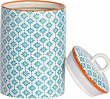 Nicola Spring Hand-Printed Kitchen Utensil Holder
