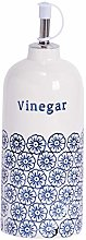 Nicola Spring Hand-Printed Vinegar Bottle with