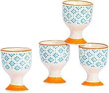 Nicola Spring Porcelain Breakfast Egg Cups -