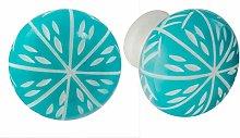 Nicola Spring Resin Cupboard Drawer Handle Knobs -