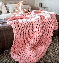 Nicole Knupfer Chunky Knitted Blanket Knitted