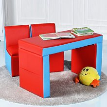 Nicolette Children's 3 Piece Writing Table and