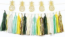 NICROHOME Tropical Pineapple Party Decorations-18