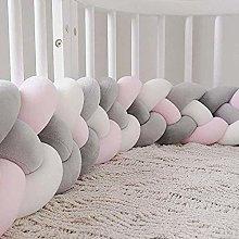 NIDAYE Braided 1m Cot Bumper,Bunk Bed Border Weave