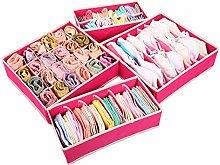 Nifogo Drawer Storage Organiser, Foldable Fabric