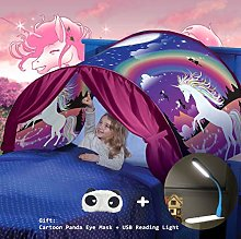 Nifogo Pop Up Bed Tent, Magical Bed Tents for