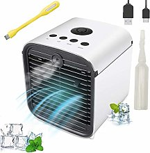 Nifogo Portable Air Cooler with 3 Fan Speeds and 7