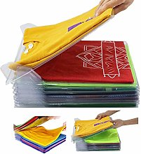 Nifogo T-Shirt Clothes Folder Anti-wrinkle Clothes