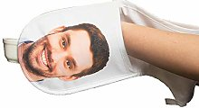 Nifty Gifty Personalised Face Oven Mitts | Custom