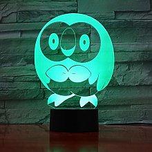 Night Light 3D Night Light Led Touch Sensor Room